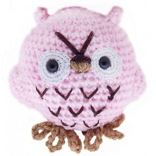Cú Mèo Hedwee Owl WT-010PIK-M Bobicraft (10 Cm X 10 Cm X 7 Cm)
