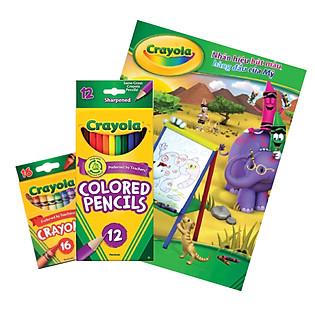 Combo Vẽ Và Tô Màu Crayola CB07 (Tặng Kèm 5 Quyển Vở Học Sinh)