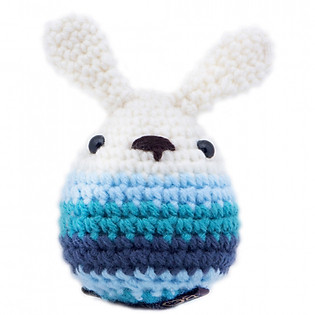 Trứng Phục Sinh Easter Eggs WT-073BLU-S Bobicraft (7 Cm X 7 Cm X 12.5 Cm)