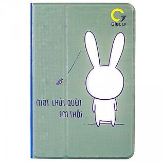 Bao Da Ipad Mini 4 Mẫu Thiết Kế - Thỏ