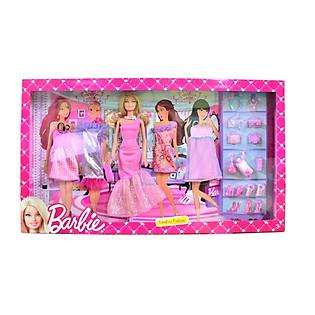 Bộ Sưu Tập Thời Trang Barbie BCF76