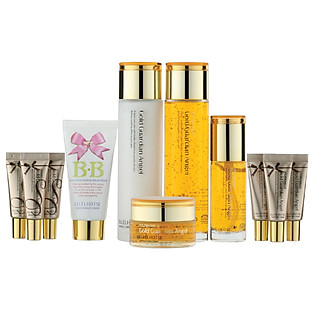 Bộ 7 Sản Phẩm Chăm Sóc Da LK Cosmetic Ellehotse Gold Wrinkle Care Set