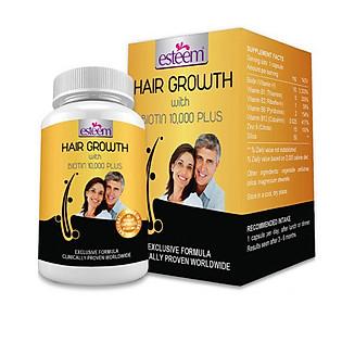 Thực Phẩm Chức Năng Viên Giúp Mọc Tóc Số 1 Thế Giới Esteem Hair Growth (Hộp 60 Viên )