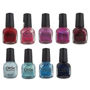 Sơn Móng Tay Ottie Nail Color Mẫu 21 – 30 (10Ml)