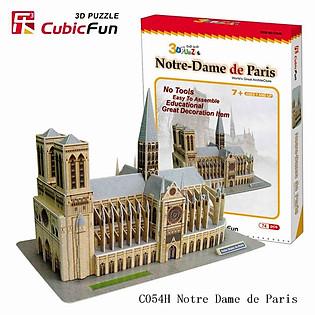 Mô Hình Giấy Cubic Fun: Notre Dame De Paris MC054H-2