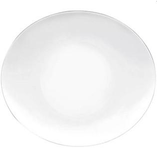 Đĩa Soup Thủy Tinh Prometeo Bormioli Rocco Màu Trắng - 23  X 20 (Cm)