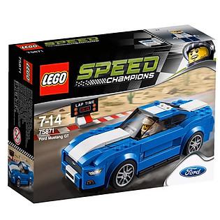 Mô Hình LEGO Speed Champions - Xe Đua Ford Mustang Gt 75871 (185 Mảnh Ghép)