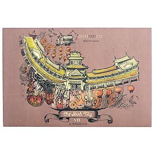 Combo Postcard Sài Gòn Xưa - Mẫu 2