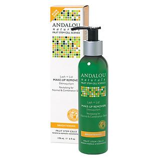 Nước Tẩy Trang Andalou Naturals Revitalizing Lash + Lid Make-Up Remover - 25110 (178Ml)