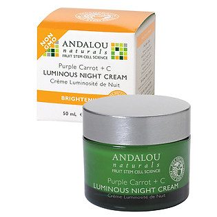 Kem Dưỡng Da Đêm Andalou Naturals Cà Rốt Tím + Vitamin C - 25176 (50Ml)