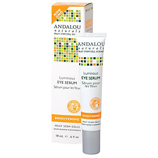 Serum Andalou Naturals Luminous Dành Cho Mắt - 25221 (18Ml)