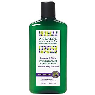 Dầu Xả Làm Phồng Tóc Andalou Naturals Lavender & Biotin Full Volume - 27120 (340Ml)