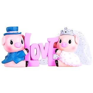 Tượng Heo Dâu Rể Love Nhỏ CA020S