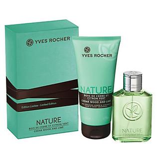 Bộ Quà Tặng Cho Nam Yves Rocher Cedar Wood & Lime - Y111829