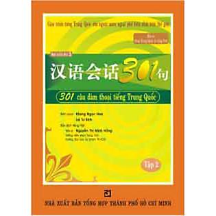 301 Câu Đàm Thoại Tiếng Trung Quốc - Tập 2 (Kèm CD)