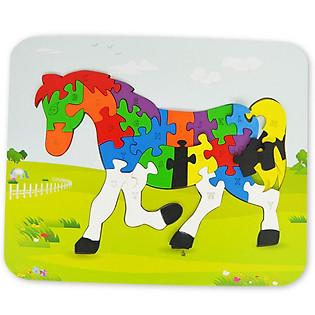 Ghép Hình Puzzle Ngựa Tottosi 303003 (26 Mảnh Ghép)