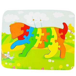 Ghép Hình Puzzle Tottosi - Mèo 303004 (10 Mảnh Ghép)