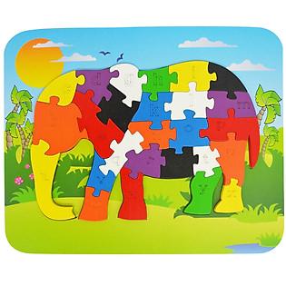 Ghép Hình Puzzle Tottosi - Voi 303007 (26 Mảnh Ghép)