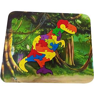 Ghép Hình Puzzle Tottosi -  Khủng Long 303009 (19 Mảnh Ghép)