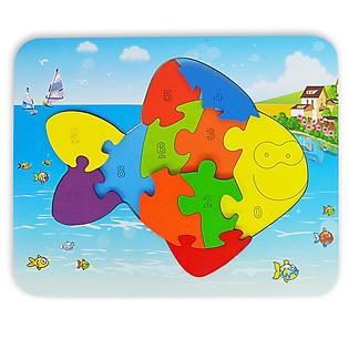 Ghép Hình Puzzle Tottosi - Cá 303011 (11 Mảnh Ghép)