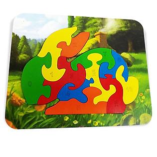 Ghép Hình Puzzle Tottosi - Thỏ 303013 (11 Mảnh Ghép)