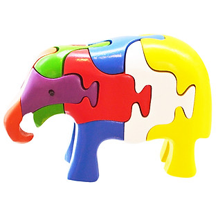Lắp Ráp Mô Hình Puzzle Tottosi 3D - Voi Cụp 304014 (7 Mảnh Ghép)