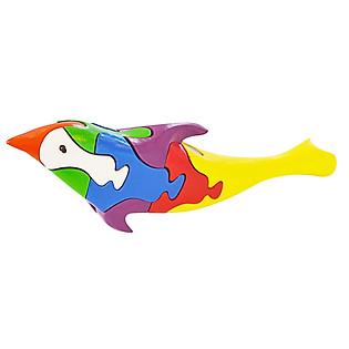 Lắp Ráp Mô Hình Puzzle Tottosi 3D - Cá Heo 304015 (7 Mảnh Ghép)