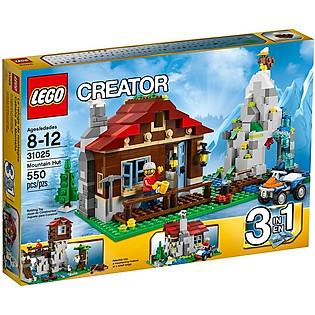 Mô Hình LEGO Creator Nhà Trên Núi (550 Mảnh Ghép) - 31025