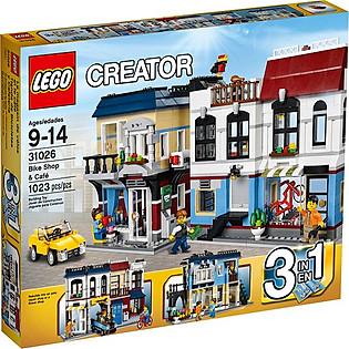 Mô Hình LEGO Creator Cửa Hàng Xe Đạp Và Quán Cà Phê - 31026