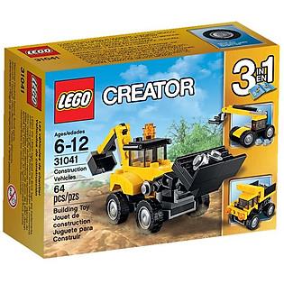 Mô Hình LEGO Creator - Xe Công Trình Xây Dựng 31041 (64 Mảnh Ghép)