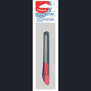 Dao Rọc Giấy Maped Plastic 9 Mm - 092211