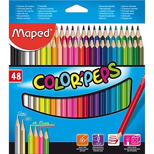 Bút Chì Màu Maped Hộp Giấy – 48 Màu