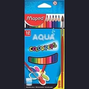Bút Chì Màu Nước Maped Hộp Giấy - 12 Màu