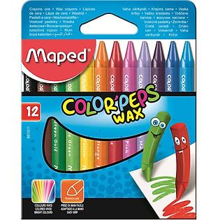 Sáp Màu Maped Wax 12M - 861011