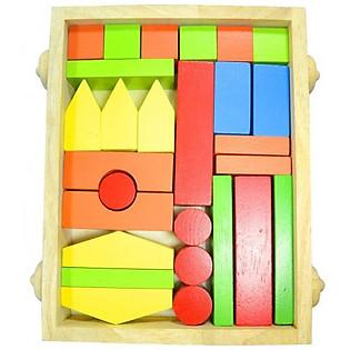 Block Xây Nhà Tottosi 301008 (27 Mảnh)