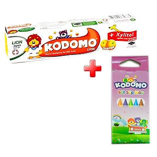 Kem Đánh Răng Trẻ Em Kodomo Hương Cam - 45G