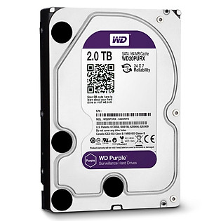Ổ Cứng Trong PC WD 2TB (64MB) 3.5″ Purple™