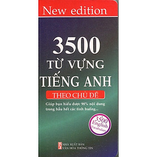 3500 Từ Vựng Tiếng Anh (Theo Chủ Đề)