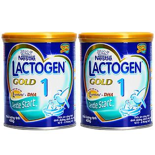 Combo 2 Lon Sữa Nestle Lactogen Gold 1 Dành Cho Trẻ 0 – 6 Tháng Tuổi (400G)