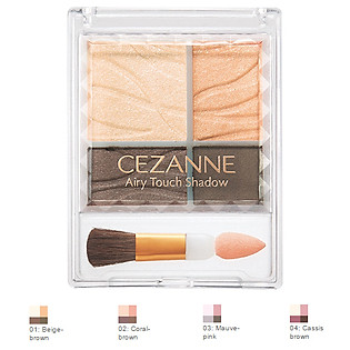 Phấn Mắt Airy Touch Shadow Cezanne (3.8G)