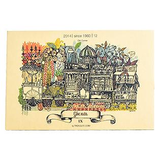 Combo Postcard Sài Gòn Xưa - Mẫu 3