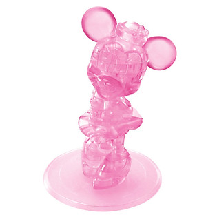 Mô Hình STN Chuột Minnie 3D Crystal - N09022