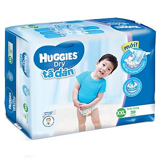 Tã Dán Huggies Dry Jumbo Gói Đại Size XXL (30 Miếng)