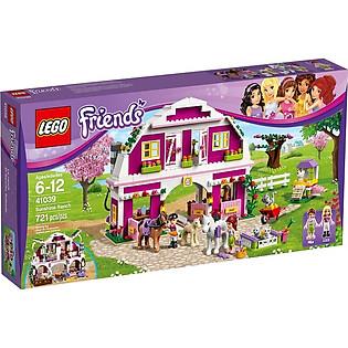 Mô Hình LEGO Friends Trang Trại Rực Rỡ (721 Mảnh Ghép) - 41039