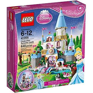 Mô Hình LEGO Disney Princess Lâu Đài Của Lọ Lem (646 Mảnh Ghép) - 41055