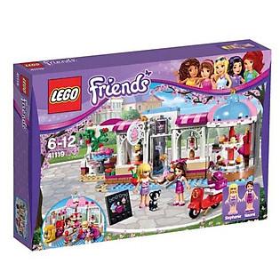 Mô Hình LEGO Friends - Quán Cà Phê Bánh Ngọt Heartlake 41119 (439 Mảnh Ghép)