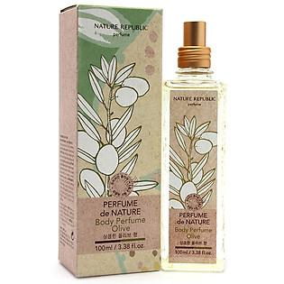 Nước Hoa Nature Republic Perfume De Nature Body Perfume-Olive (100Ml)