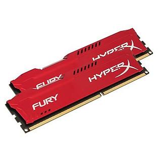 RAM Kingston 8G 1600MHZ DDR3 CL10 Dimm (Kit Of 2) Hyperx Fury Red - HX316C10FRK2/8