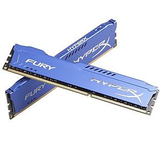 RAM Kingston 8G 1600MHZ DDR3 CL10 Dimm (Kit Of 2) Hyperx Fury Blue - HX316C10FK2/8