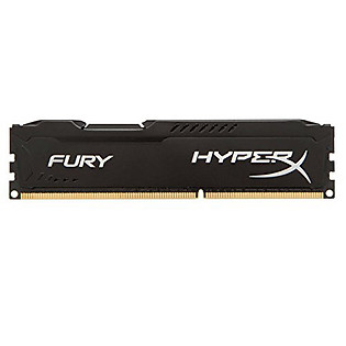 RAM Kingston 8G 1866MHZ DDR3 CL10 Dimm Fury Black - HX318C10FB/8